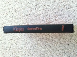 CUJO by Stephen King 1981 VERY GOOD Hardcover FIRST printing