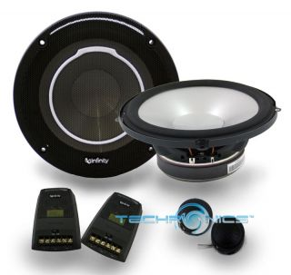 540W MAX 2 WAY COMPONENT CAR STEREO PANEL SPEAKERS SYSTEM