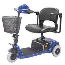 CTM HS 125 3 Wheel Electric Mini Mobility Travel Scooter Cart Foldable