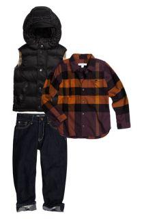 Burberry Vest, Shirt & Jeans (Little Boys)
