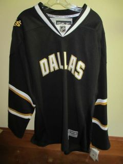 DALLAS STARS AUTHENTIC JERSEY NEW WITH TAGS REEBOK LICENSED XXL
