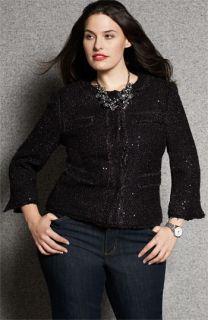MICHAEL Michael Kors Bouclé Jacket & Bootcut Jeans