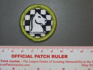 Boy Scout Merit Badge Chess circa 2010 6942X