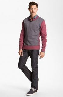 Alternative Sweatshirt, Nudie Shirt & J Brand Slim Straight Leg Jeans