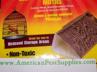 48 Catchmaster Bird Seed Pantry Indian Meal Moth Traps