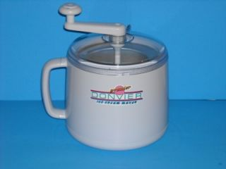 Preowned Donvier Premier Chillfast Ice Cream Maker in MINT condition