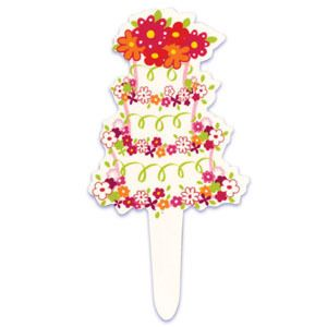 Cake Flexi Cupcake Picks Toppers Party Shower Supplies