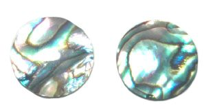 Natural Abalone Shell Cuff Links Mens Jewelry 091A
