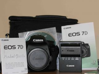 Canon EOS 7D Professional Choice Camera w Two Lenses Filter Case More