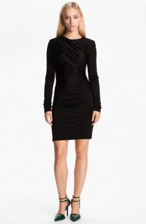 T by Alexander Wang Piqué Double Knit Dress