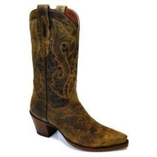 Dan Post Ladies El Paso Cowboy Western Boots DP3247 Tan Size 6 10