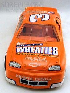 Dale Earnhardt Wheaties Car Orange Diecast 1 24 Scale 1997 Monte Carlo