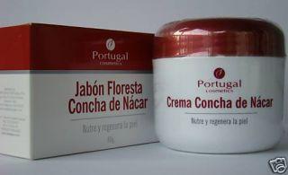 Crema Concha de Nacar Cream Nacar Soap Free