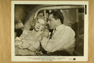 Photo Dana Andrews Alice Faye Fallen Angel 1945