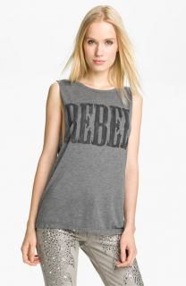 Haute Hippie Rebel Graphic Muscle Tank