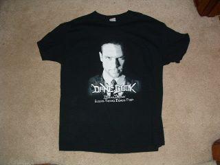 Dane Cook 2009 Global Incident Tour Black T Shirt XL