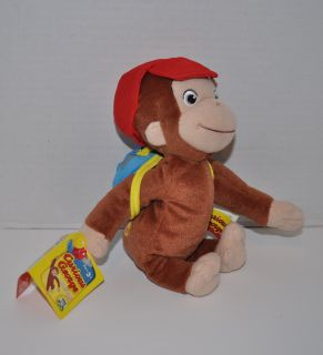 curious george bean bag soft plush toy click to enlarge