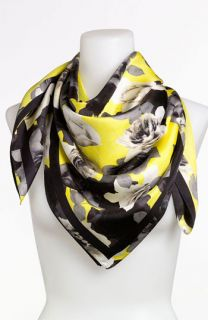 Juicy Couture Roses Silk Scarf