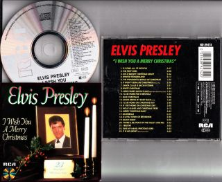 Elvis Presley I Wish You A Merry Christmas CD Album 23 Beautiful Songs