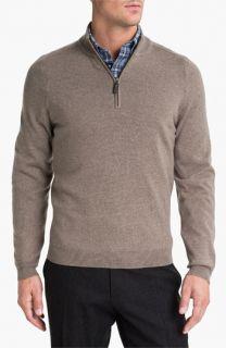 Merino Wool Half Zip Sweater