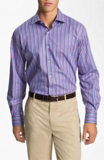 Peter Millar Pop Stripe Sport Shirt