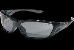 Crews FF122 Forceflex Safety Glasses Grey Lens 1 Pair
