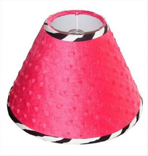 Lamp Shade for Hot Pink Zebra Baby Crib Bedding Set by Sisi