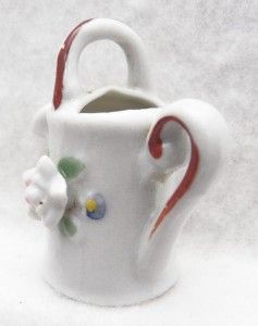Vintage Tiny Porcelain Watering Can Occupied Japan