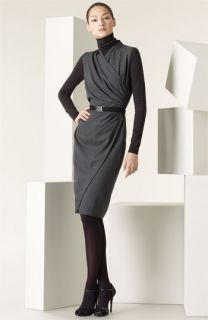 Ralph Lauren Black Label Lenorah Belted Dress