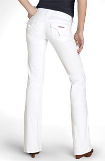 Hudson Jeans Supermodel Signature Bootcut Stretch Jeans (White Wash) (Long)