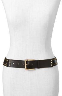 MICHAEL Michael Kors Studded Patch Stretch Belt