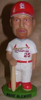 2001 Mark McGwire St Louis Cardinals Bobblehead Doll