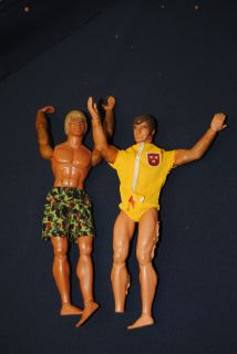 Authentic 1970s Big Jim parts and 4 figures Loaded $