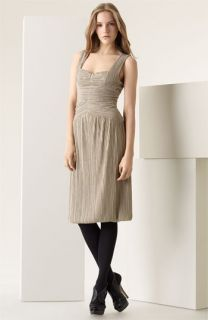 Burberry Prorsum Pleated Jersey Dress