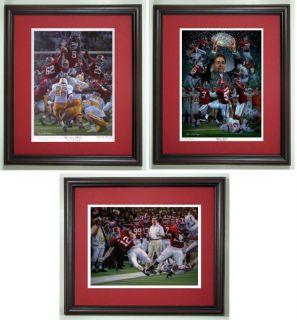 Alabama Football Daniel Moore 3 Framed Prints Special