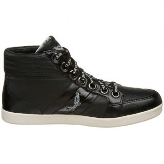 Robins Jeans Danton Black White Dress Sneaker Shoe