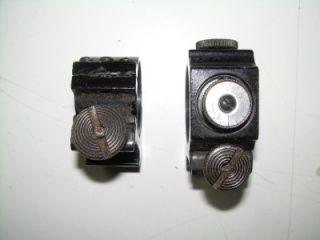 Weaver Vintage Scope Rings with External Adjustments