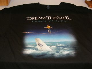 Dream Theater 2011 XL A Dramatic Turn of Events Tour T Shirt New