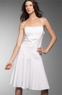 BCBG Max Azria Ruffle Tuxedo Dress