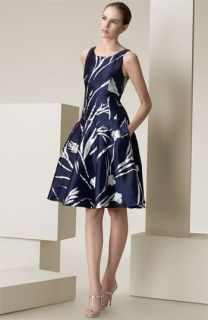 Ralph Lauren Black Label Jodie Silk Mikado Dress