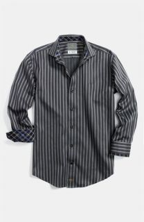 Thomas Dean Stripe Dress Shirt (Little Boys & Big Boys)