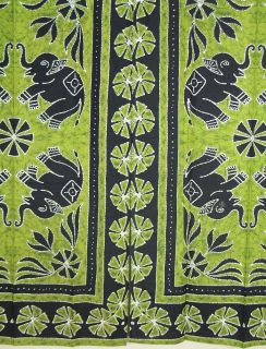 of hand block printed cotton curtains drapes panels window treatments