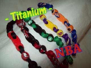 NBA Basketball Titanium 3 Rope Sport Necklace 18 20 22 Tsunami
