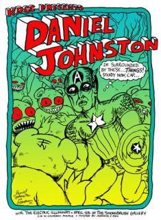 Jermaine Rogers Daniel Johnston Original RARE Print Set Edition of 3
