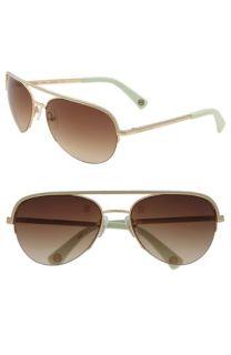 MICHAEL Michael Kors Miami Aviator Sunglasses