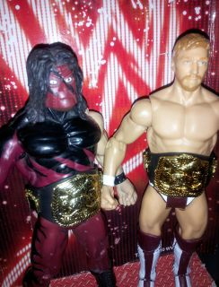 WWE Kane Masked Daniel Bryan Wrestling Action Figure Tag Team