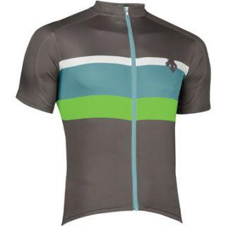 Bookcliffs Jersey Mens Road Bike Cycling Charcoal Grey Medium M