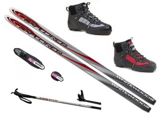 NEW 2012 2013 XC cross country NNN SKIS/BINDINGS/BOOTS/POLES   160 170