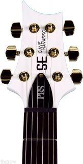 PRS Dave Navarro SE Jet White Dave Navarro SE Jet White