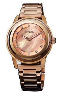 Breil Orchestra Crystal & Rose Gold Bracelet Watch